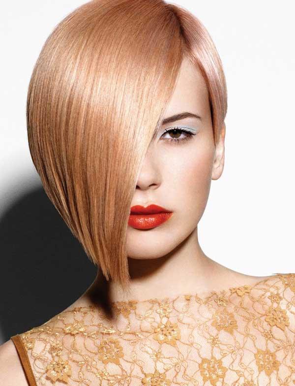 Окрашивание коротких волос модный цвет
